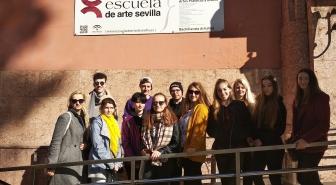 Erasmus + v partnerské škole